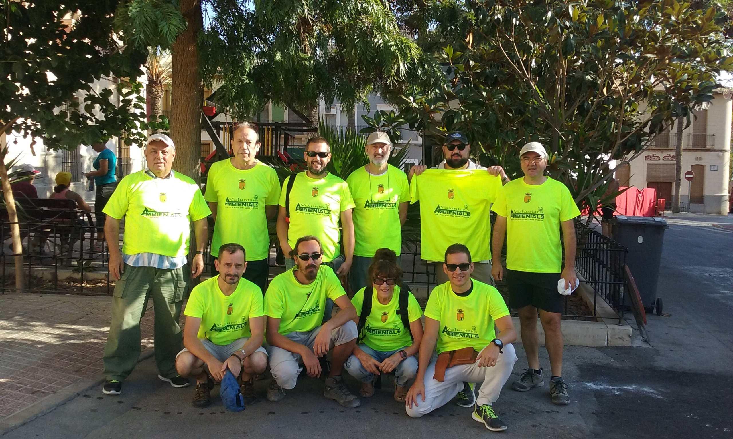 Foto voluntarios ambientales