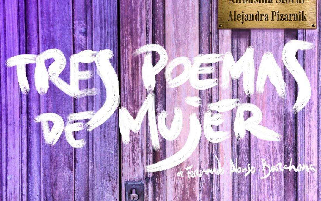 Teatro «Tres poemas de mujer»