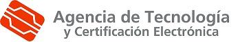 Logo Agencia de Tecnología y Certificación Electrónica