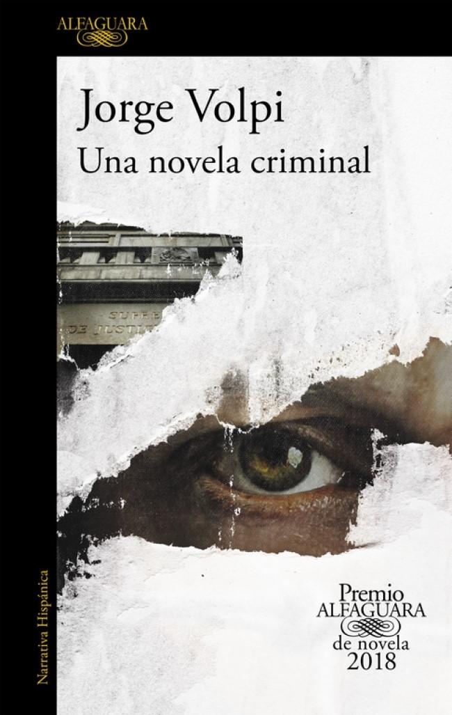 portada libro una novela criminal