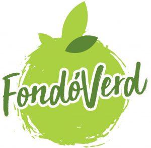 logotipo fondoverd