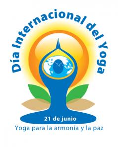 logo día del yoga