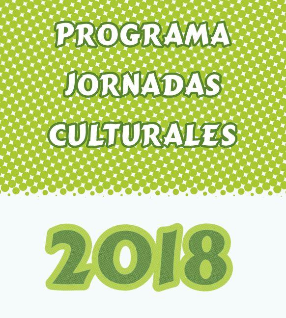 Imagen portada Jornadas Culturales 2018