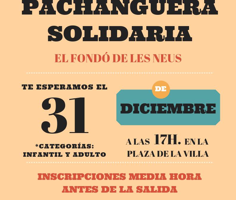VII San Silvestre Pachanguera Solidaria El Fondó de les Neus