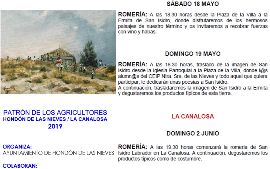 Sant Isidre 2019