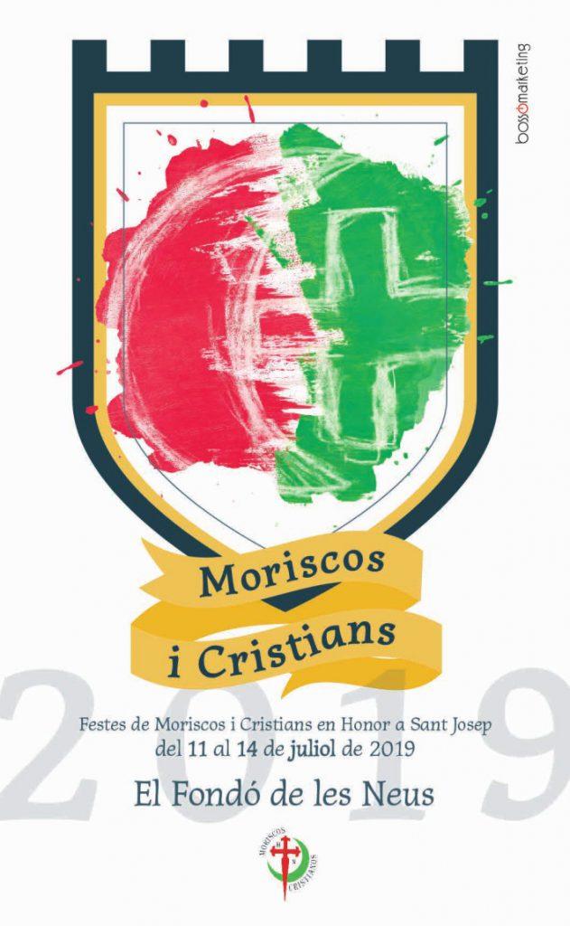 Cartel fiestas Moriscos y Cristianos 2019