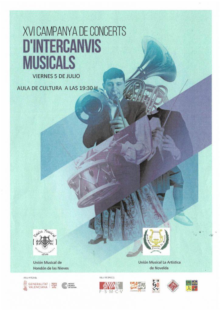 Cartel XVI campaña de conciertos