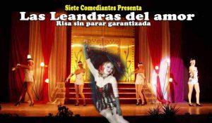 """Imagen del cartel de la obra """"Leandras del amor"""""""