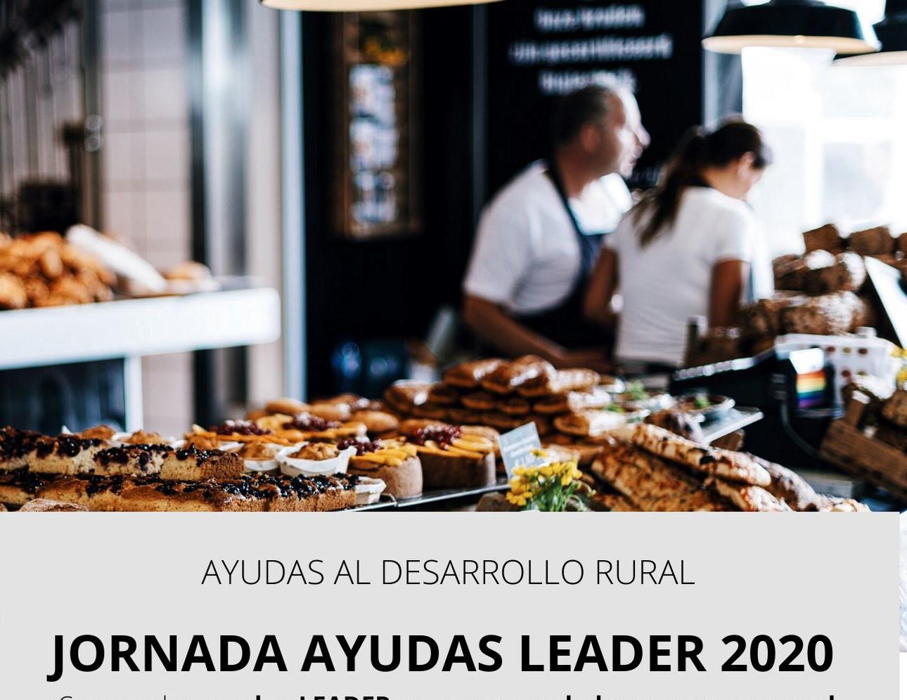 Cartel ayudas Leader 2020