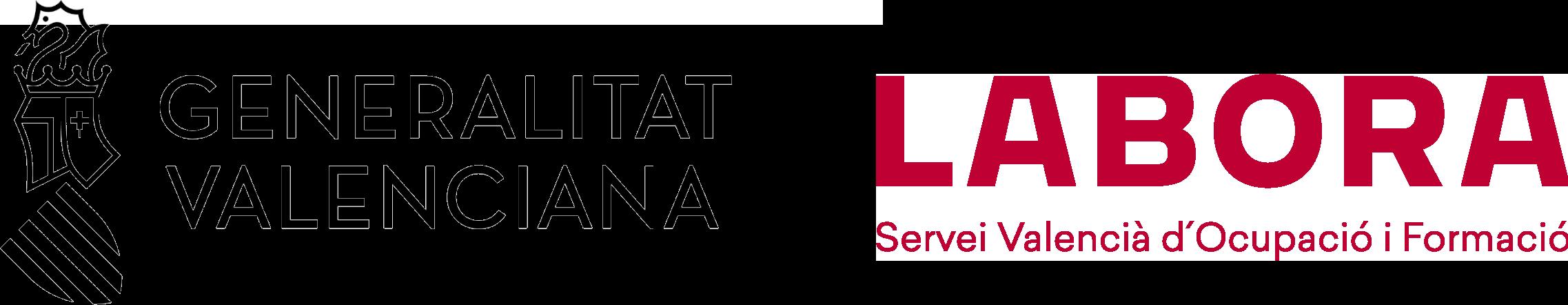 Logo GVA y LABORA