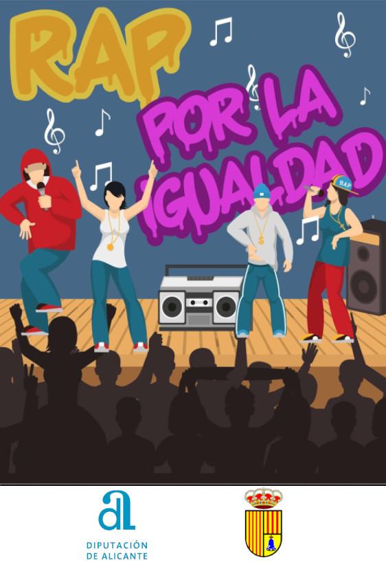 Cartel Rap igualdad 2021