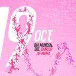 Cartel día internacional Cáncer de Mama